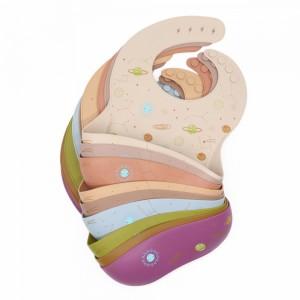 Baby Bibs With Pockets Food Grade l Melikey