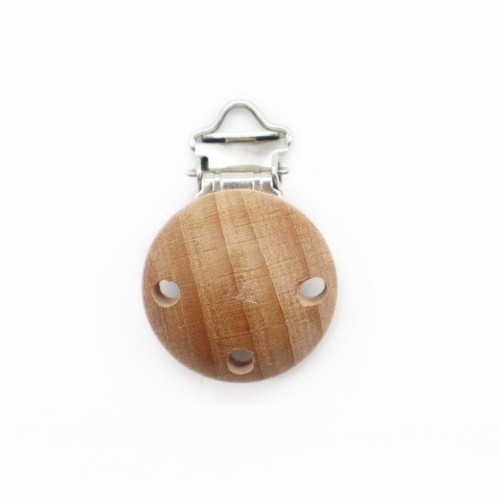 wood baby clip