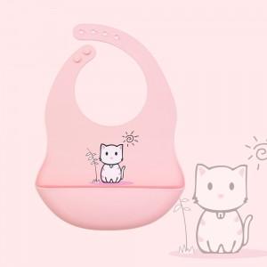 Silicone Baby Bib Soft Waterproof Custom Wholesale l Melikey