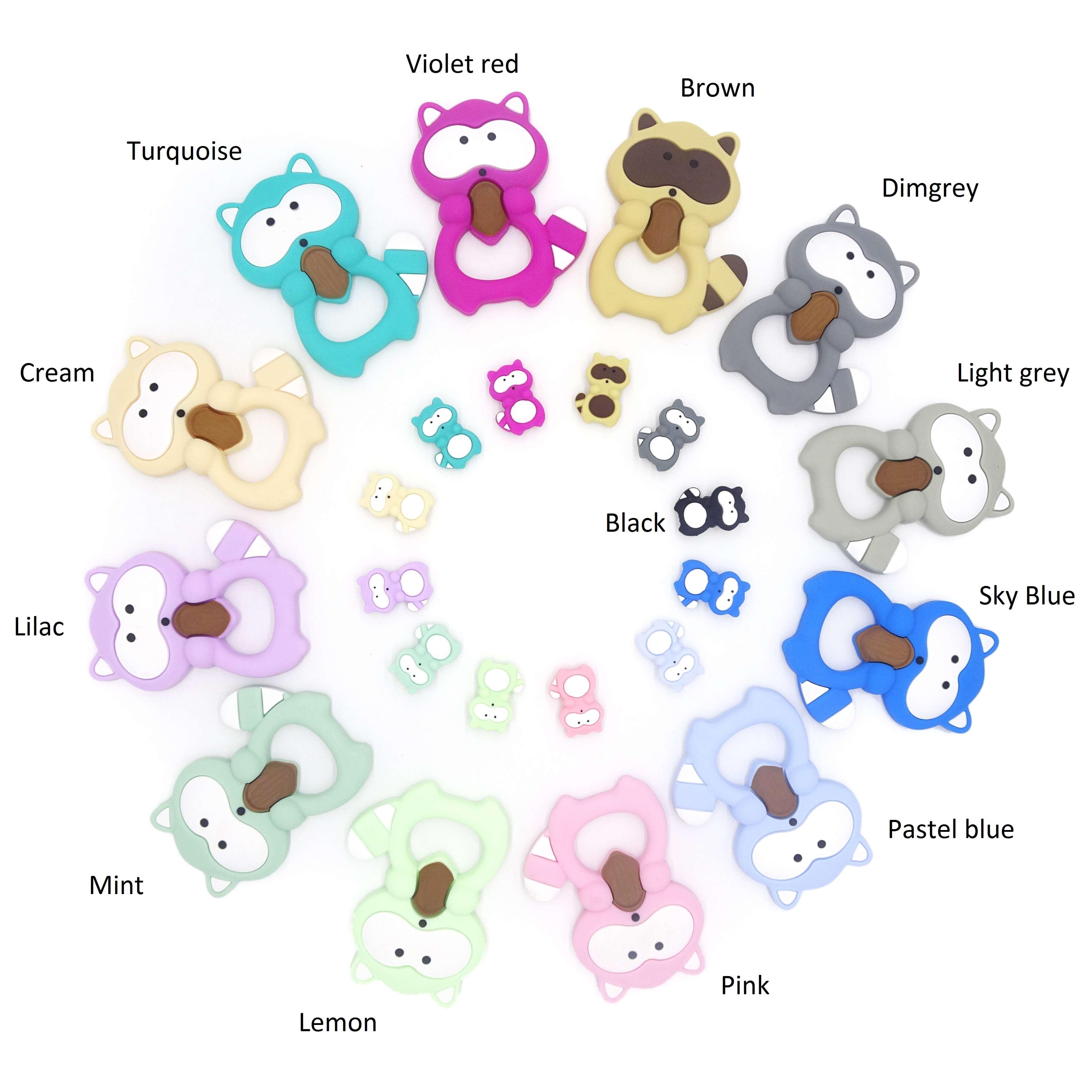Silikoon Baby tande kry Baby Tandekry Toys |  Melikey Voorgestelde Image