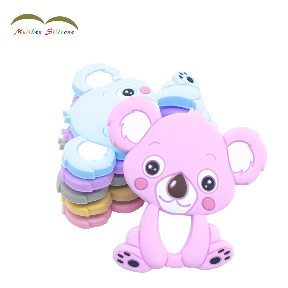 Organiese Baby Ringen Baby Sensoriese Hanger Toys |  Melikey Voorgestelde Image