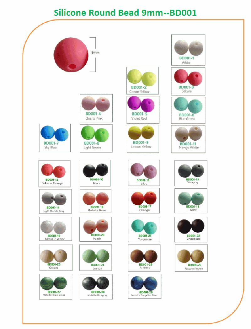 teething chew beads